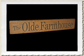 The Olde Farmhouse Sign Stencil
