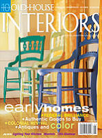 Old House Interiors Featured A Stencil Set Of Ours In The Furnishings Section Of The January