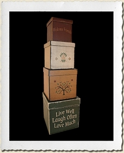 Live Well...Laugh Often...Love Much stencil, Shaker Tree of Life stencil, Pineapple stencil