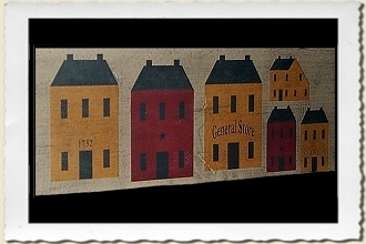Saltbox House Stencil Set